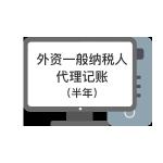 外资一般纳税人代理记账(半年)