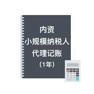 內資小規模代理記賬(一年)