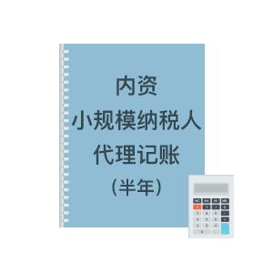 內資小規模代理記賬(半年)